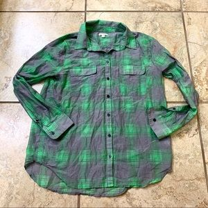 Lightweight Plaid Shirt
